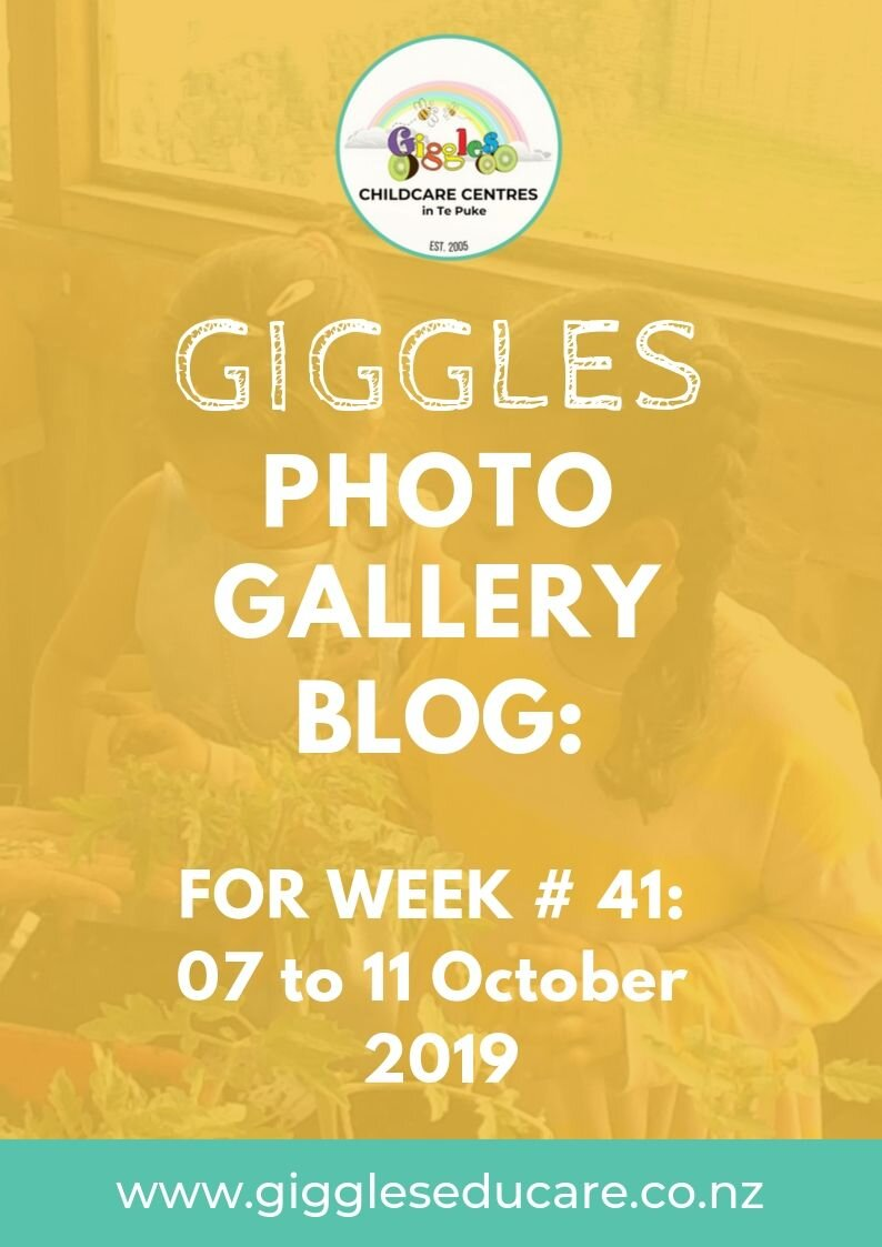 This week we start showcasing the learning that happens here at Giggles with a photo gallery blog.