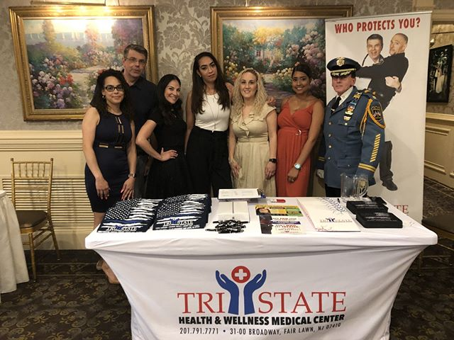 Thank you to the @njhonorlegion for having us Wednesday evening! We are honored to support 💙 . .  #tristatehealthandwellness #health #wellness #tristatehealth #njhonorlegion #lawenforcement  #nutrition #physicaltherapy #massagetherapy