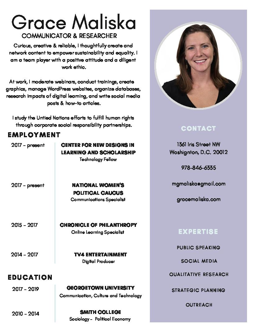 M. Grace Maliska_visual resume.png