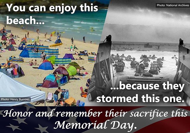 Let us not forget what this day means. #memorialday #rememberthefallen #neverforget