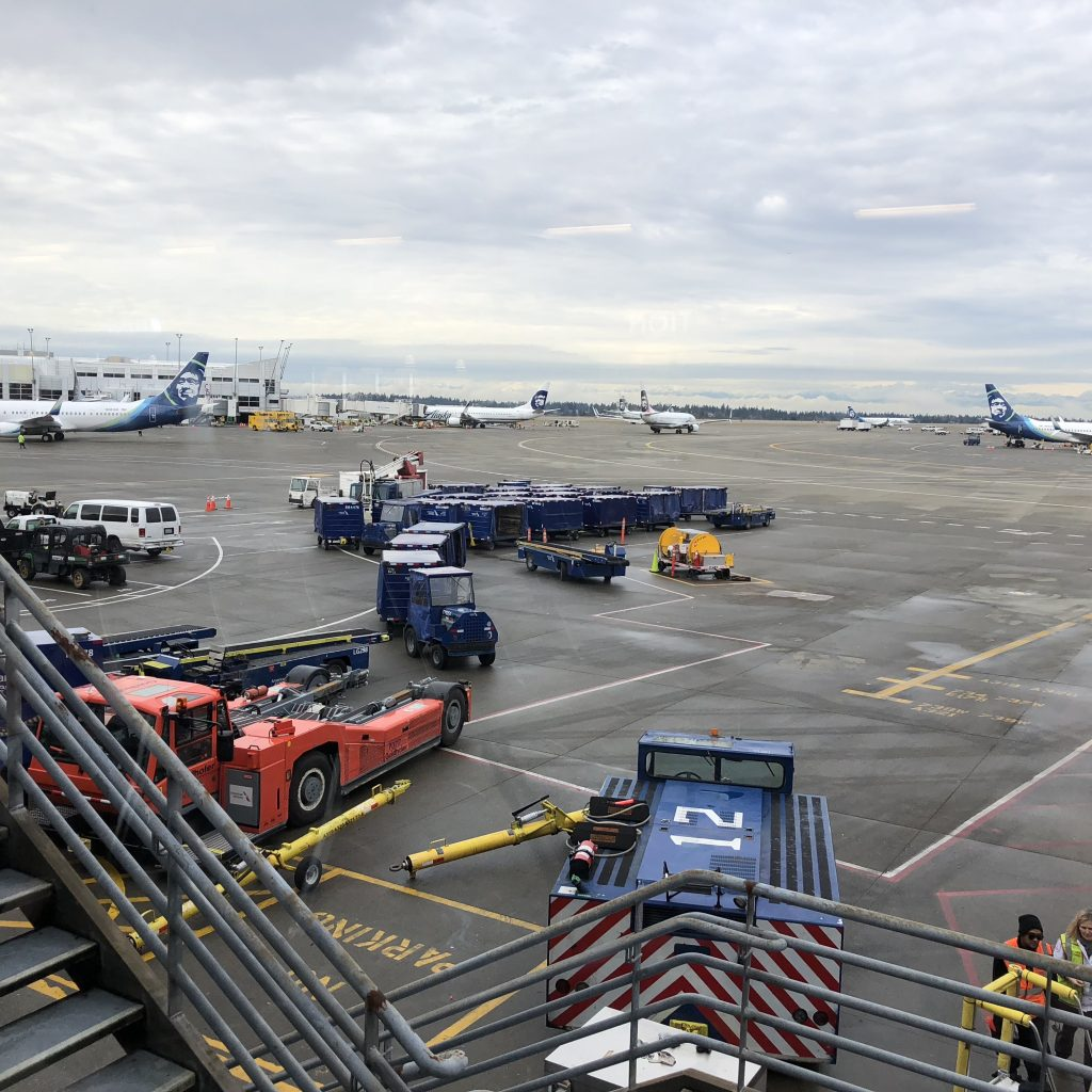 Traveling from Seatac Airport