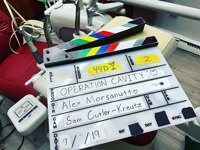 & that's a wrap on Operation Cavity! Big thank you to our talented group of producers (Paulo Araujo, Kara Bartek, Megan Catalfamo, and Chris Cenatiempo), my go-to cinematographer Sam CK, and all of the dedicated cast and crew that made this project possible. This is a community-driven project and I'm so grateful for the support that we received from everyone. We can't wait to show you this epic film! #OperationCavity #SilvermineProductions #filmmaking