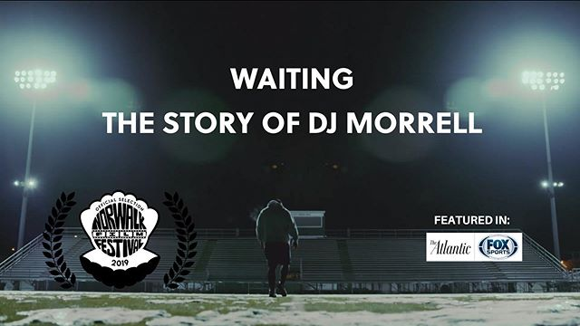 Thrilled to have our short documentary on NFL free agent DJ Morrell play at the @norwalkfilmfestival ! Our team filmed for over a year in different locations in Fairfield County with DJ to bring this project to life. There's a film community surging in Fairfield County and we're proud to be a part of it. Come watch this documentary on the big screen Saturday, September 28th and check out the other awesome films that we're screening with.