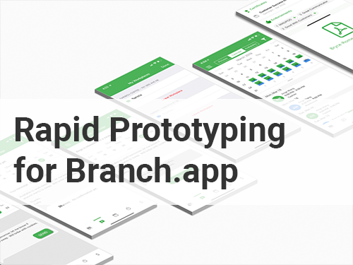 """Prototyping a feature extension for the """"app for the hourly worker"""" - Skills and Tools:Customer Journey Mapping, Kano Analysis, Sketch, Axure, InVision, and low and mid-fidelity prototyping(full version is password protected)"""