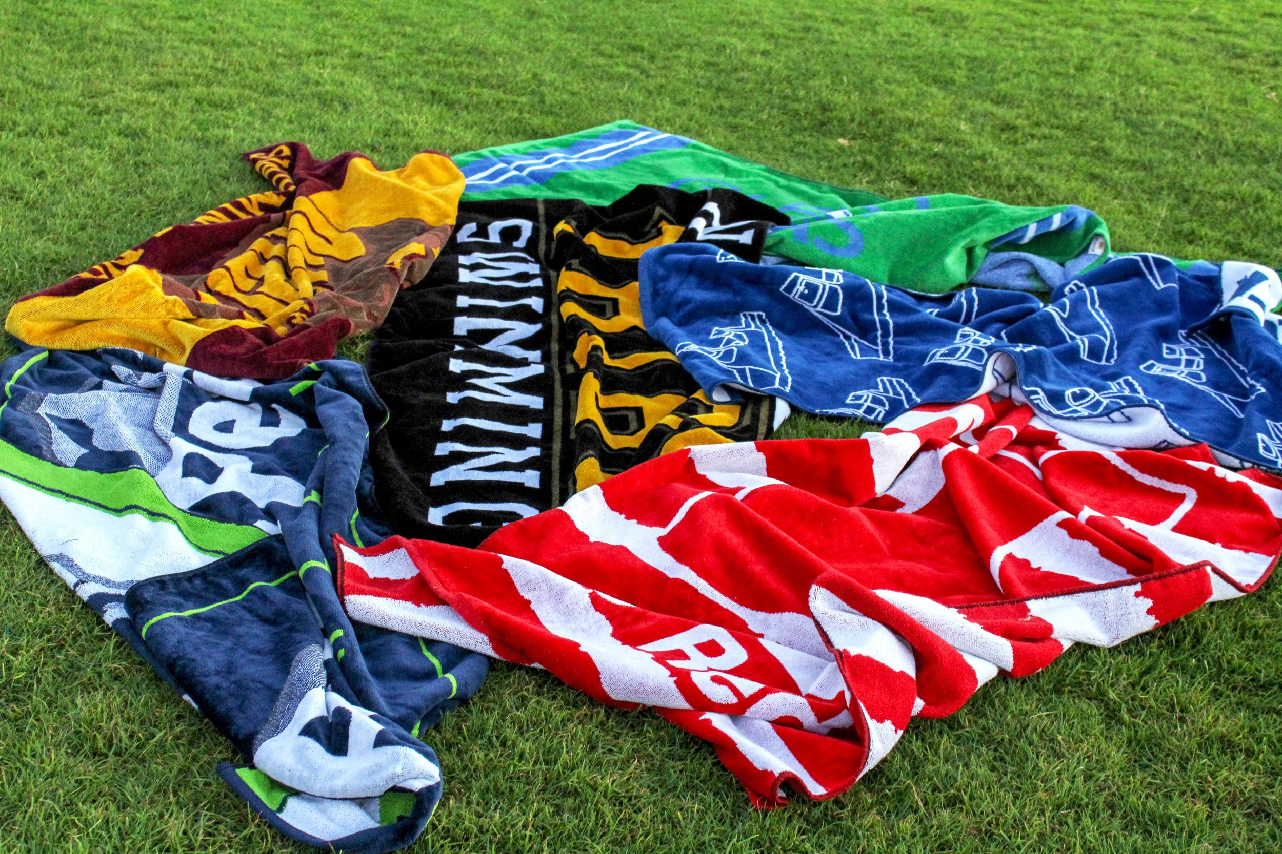 towels on grass .jpg