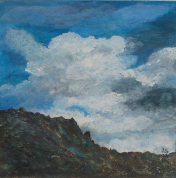 Wolken auf Naxos