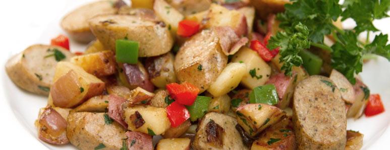 Chicken Sausage and Potato Hash