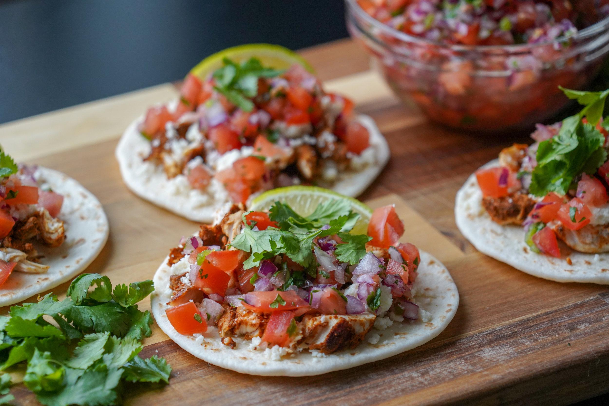 Healthier Street Tacos