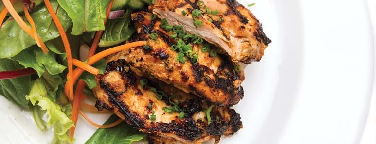 Tandoori-Style Grilled Chicken Thighs