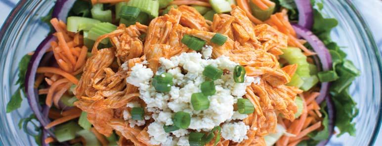 Healthier Buffalo Chicken Salad