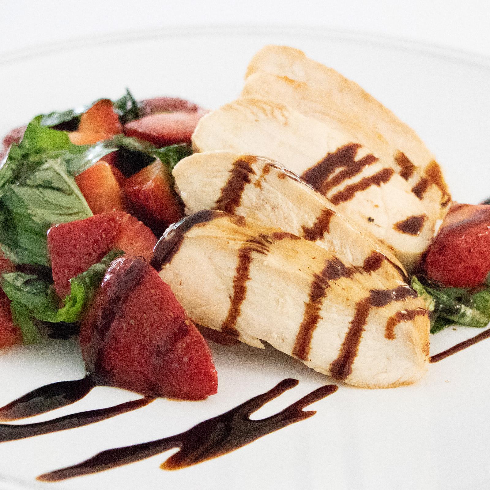 Strawberry-Basil Chicken