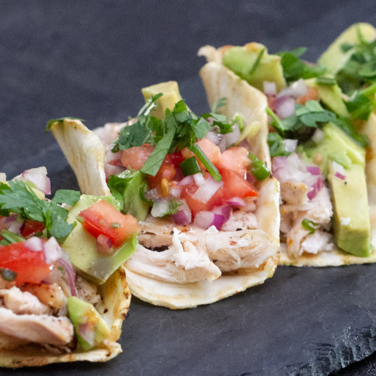 Grilled Chicken Tacos With Celery Root