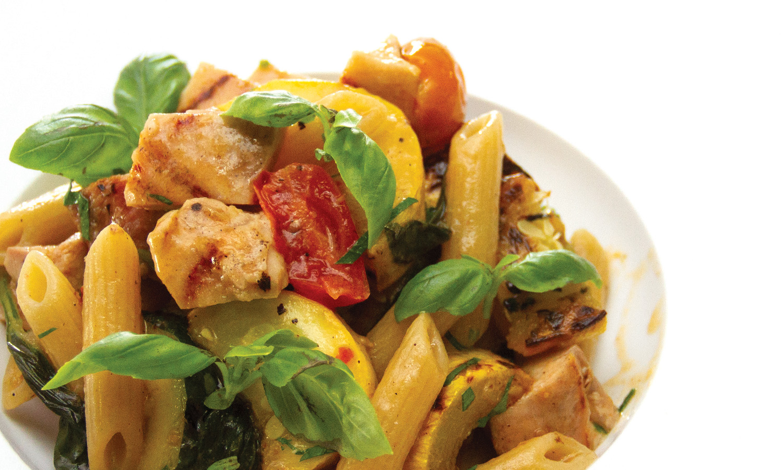 Chicken and Summer Vegetable Pasta