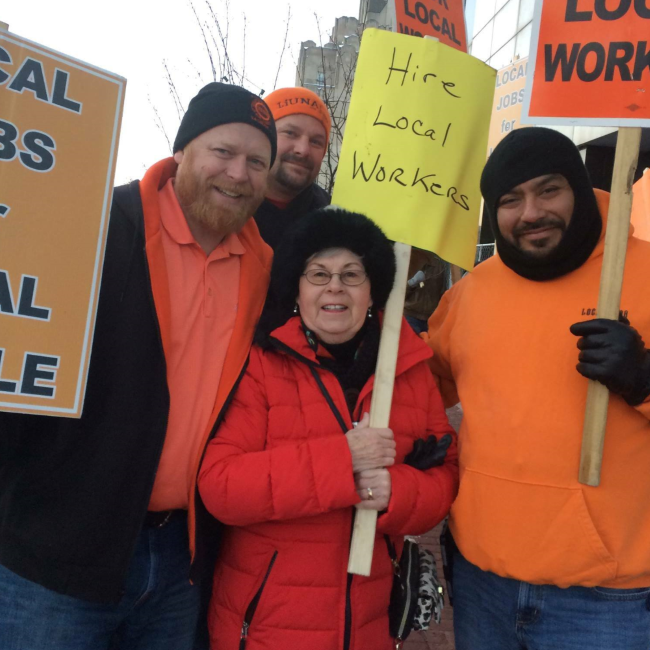 Hire Local - Local Michigan workers should have the first shot at local jobs. Our Union strongly supports policies that promote hiring people from the local workforce.