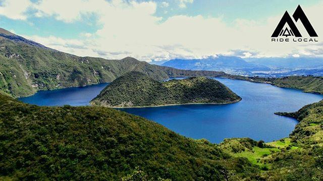 Beautiful Ecuador, need we say more?  #rideecuador #ridelocalmtb #ridelocal #greattrails #bettercompany