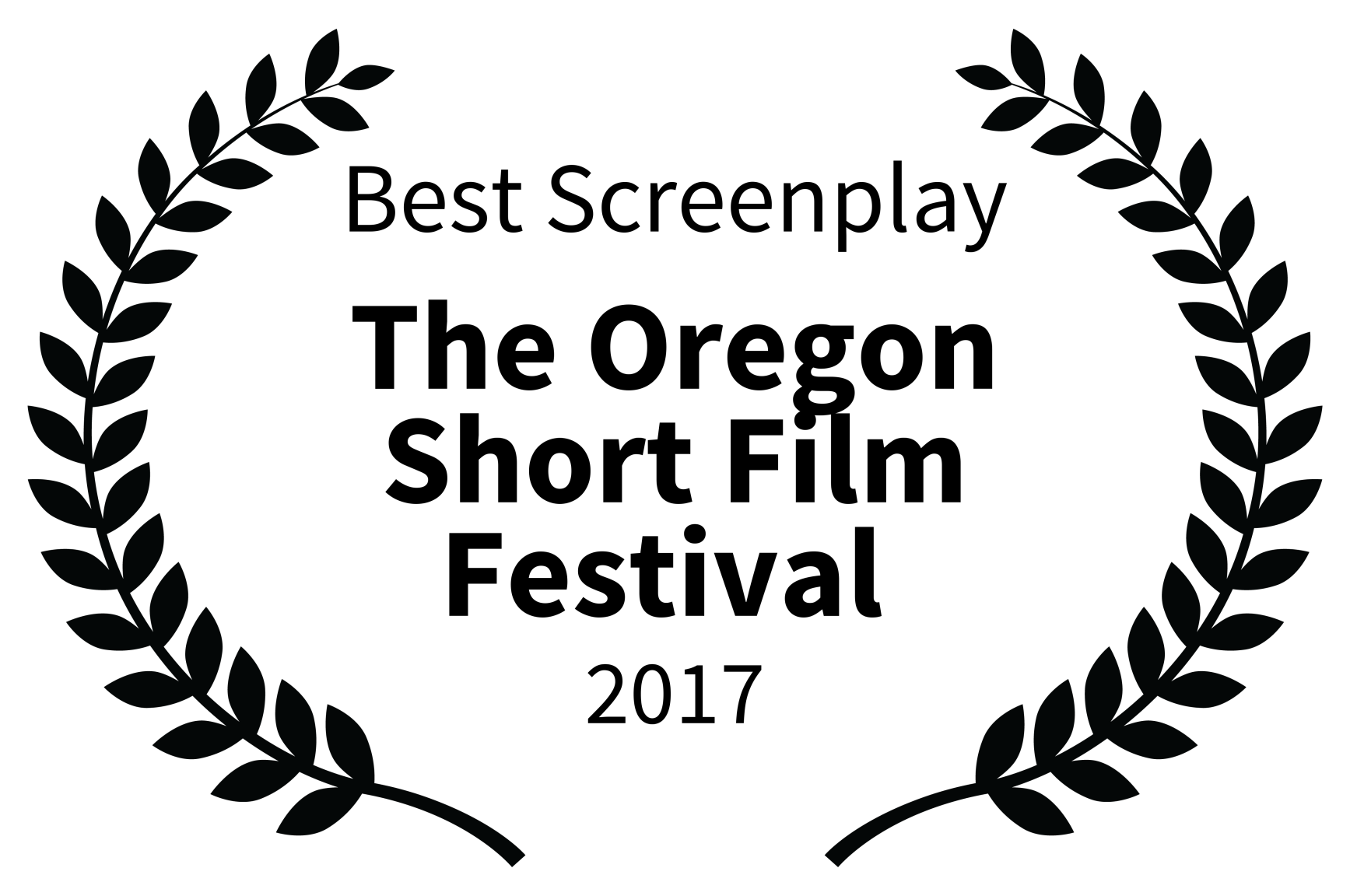 Best Screenplay - The Oregon Short Film Festival  - 2017.png
