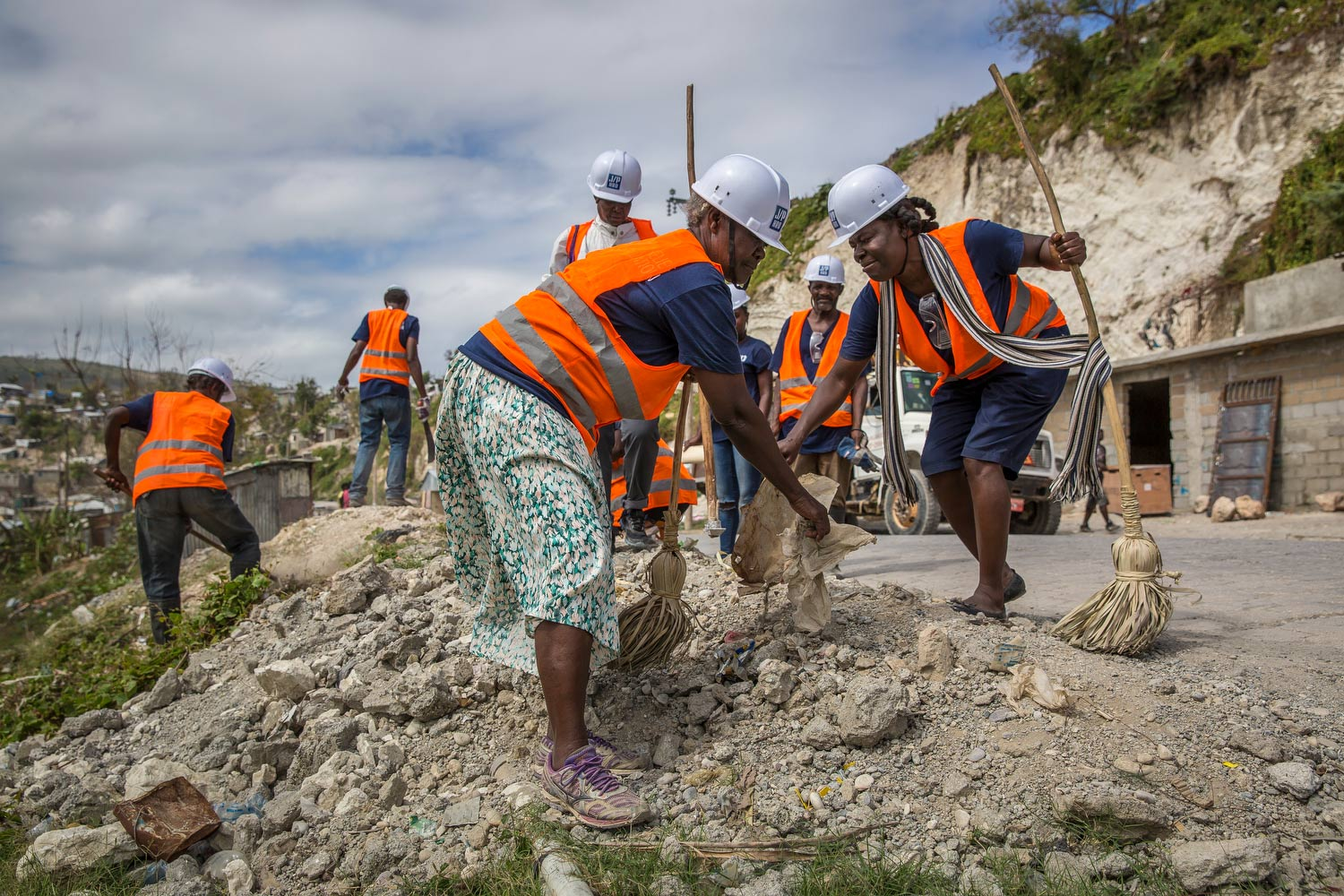 Over 600,000 cubic meters of earthquake rubble removed -