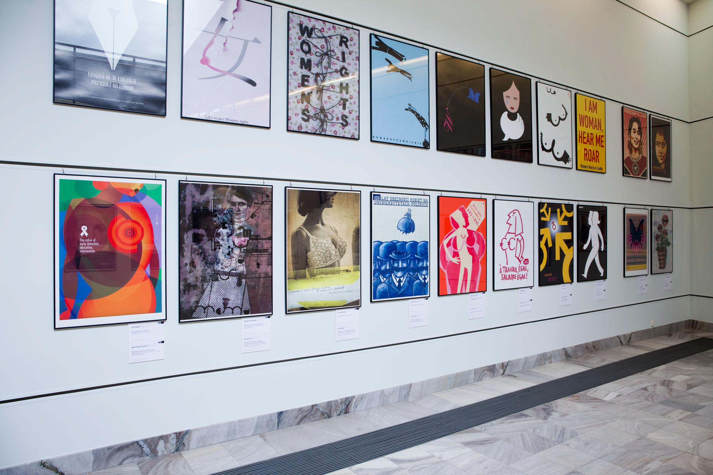 Warsaw Poster Museum, Warsaw, Poland, 2017