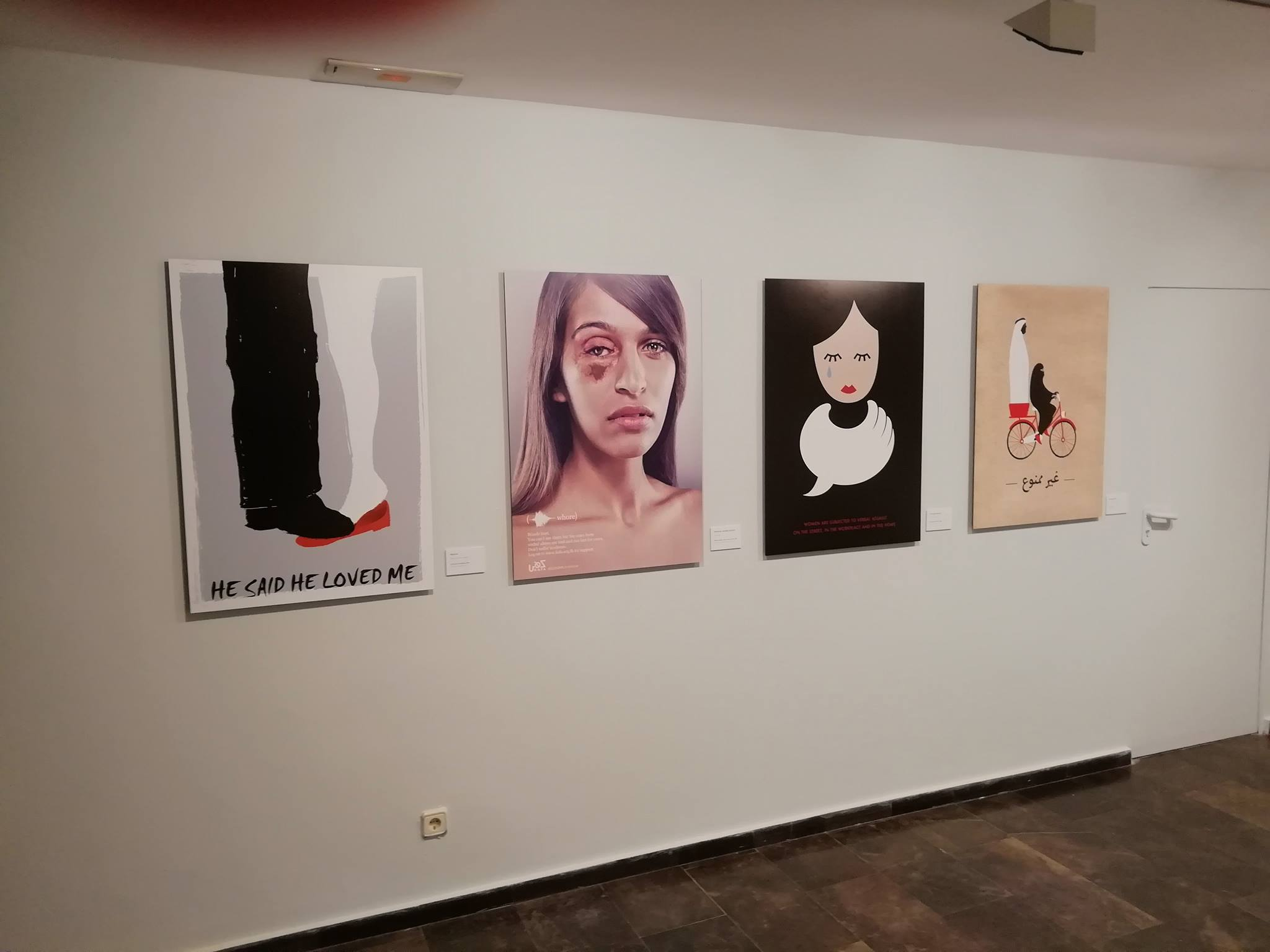 Sala de Exposiciones 4th Espacio de Zaragoza, Spain, 2019 3 5 posters from the WRHR exhibition's 95 posters were selected to be on display.