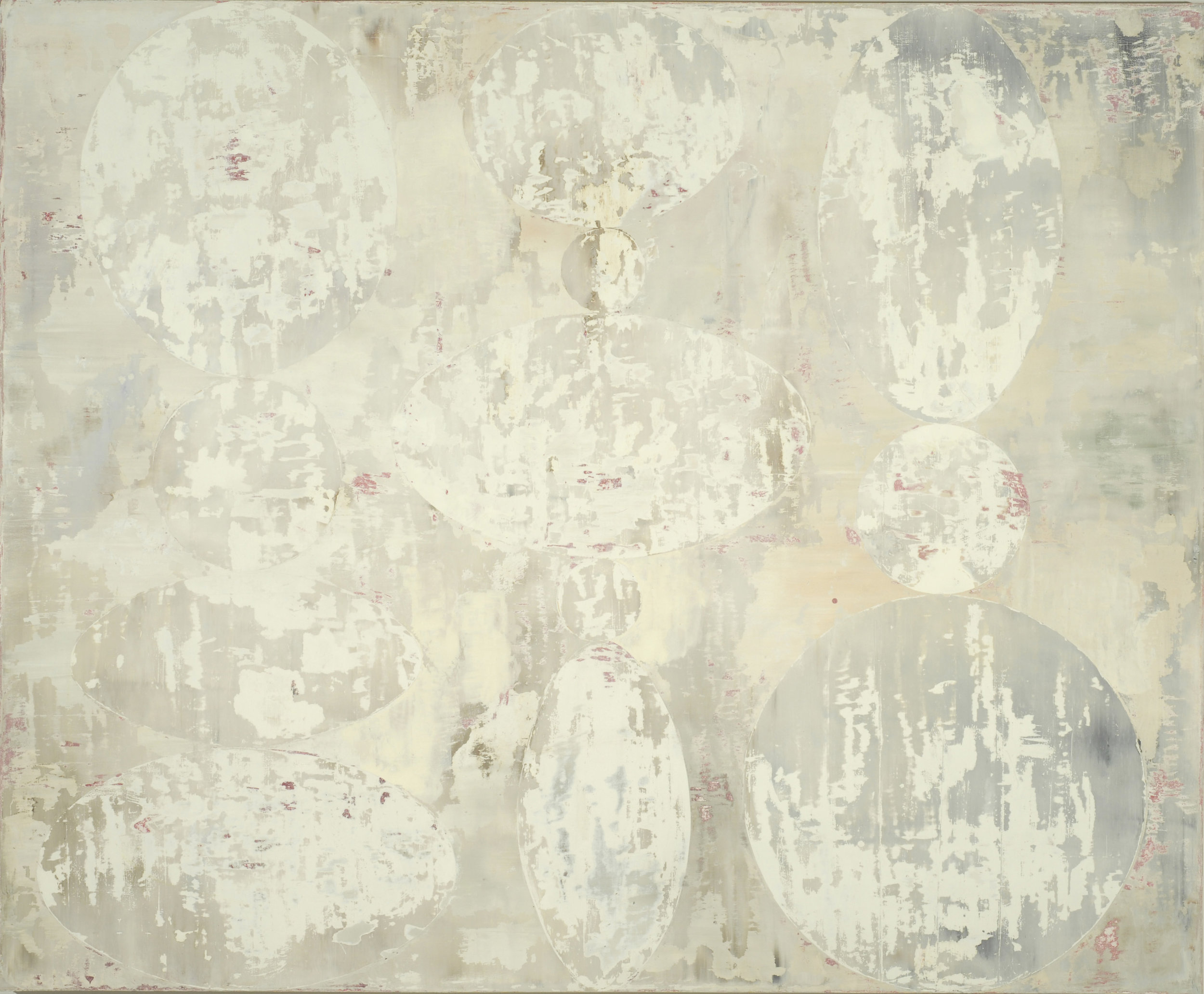 New Moon, 2008, oil on canvas, 59 x 72 in   SOLD
