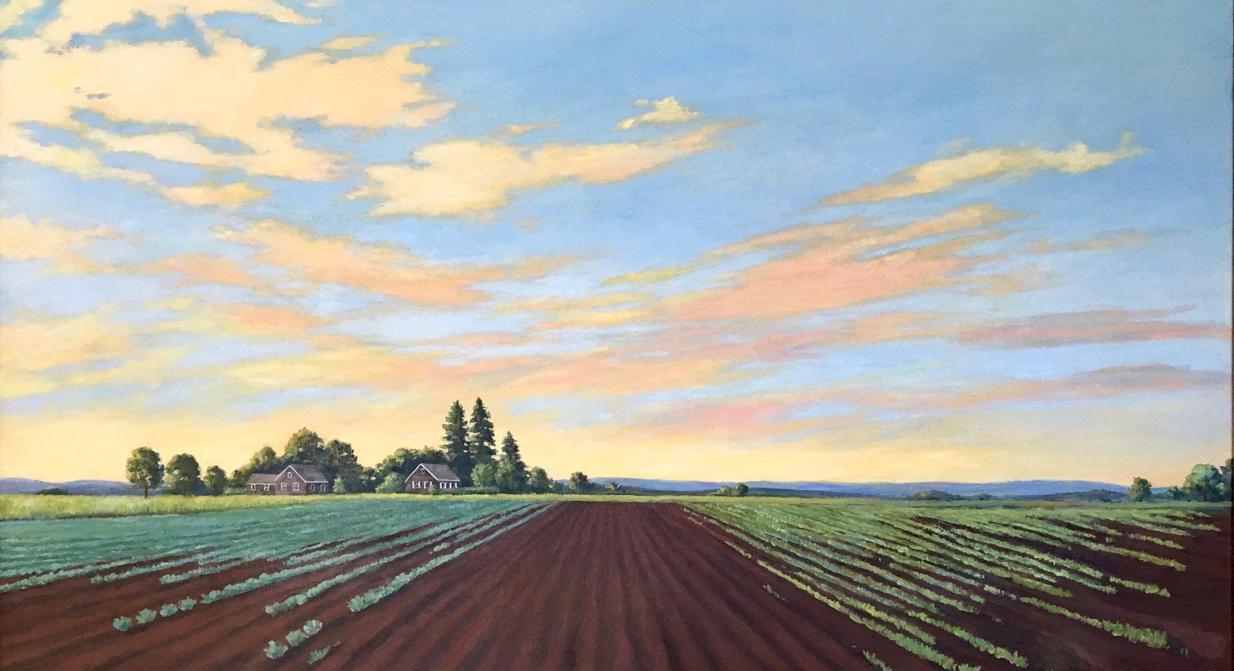 Scuttlehole, 2000, oil on canvas, 48 x 32 in, $4,800