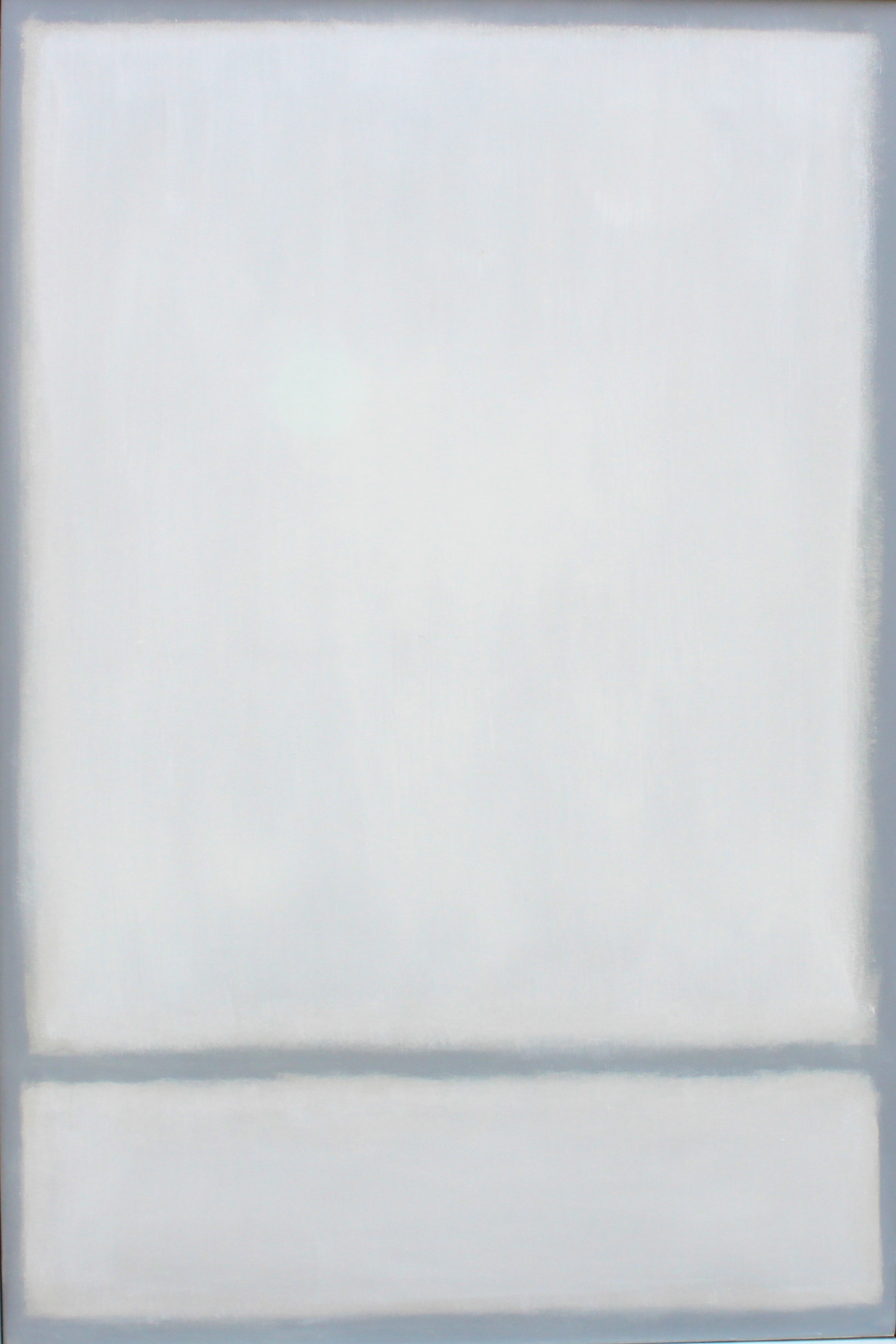 Fadeout, 2016, oil on linen, 36 x 54 in, $12,500