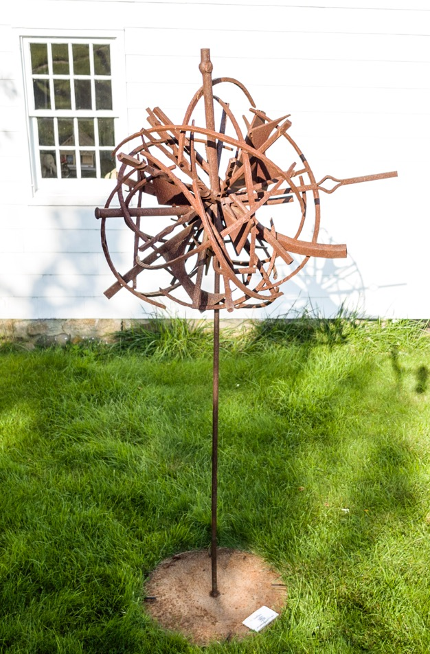 Flower To Seed V, 2018, steel, 9 x 4 x 4 in, $7,000