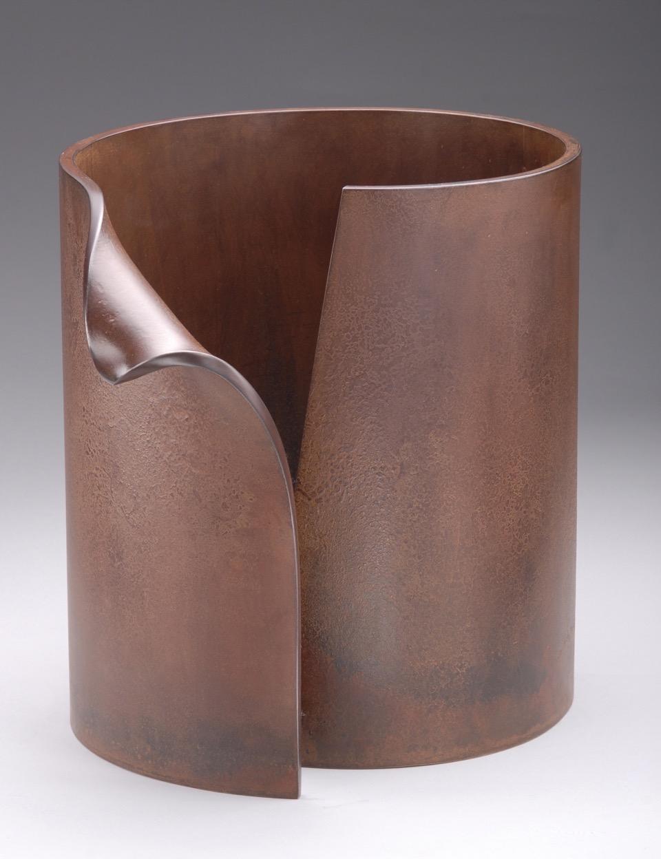 Pipe Dream, 2005, steel, 6 x 13 x 12 in, $4,500