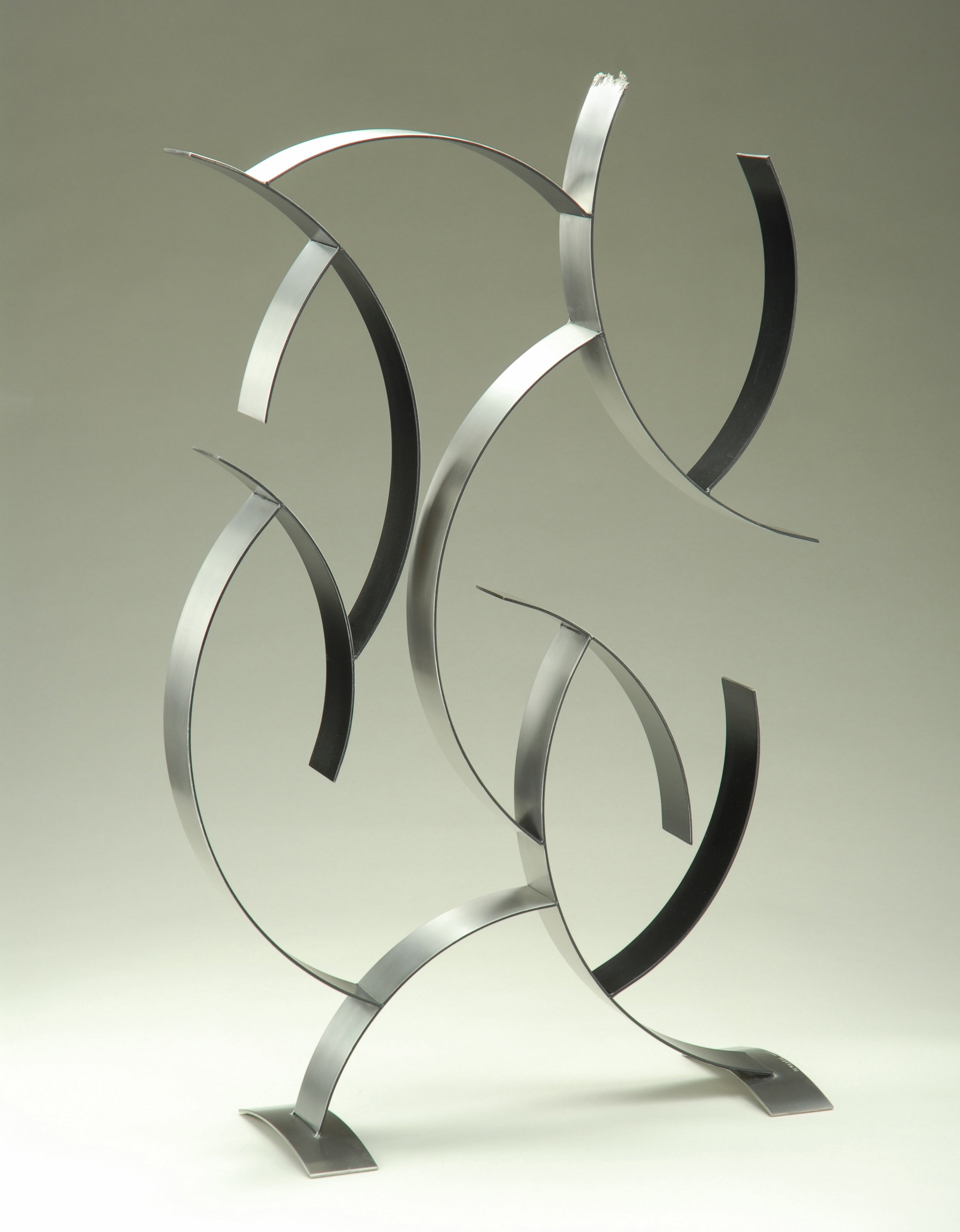 Sea Form, 2009, stainless steel, 32 x 20 x 4 in, $2,200