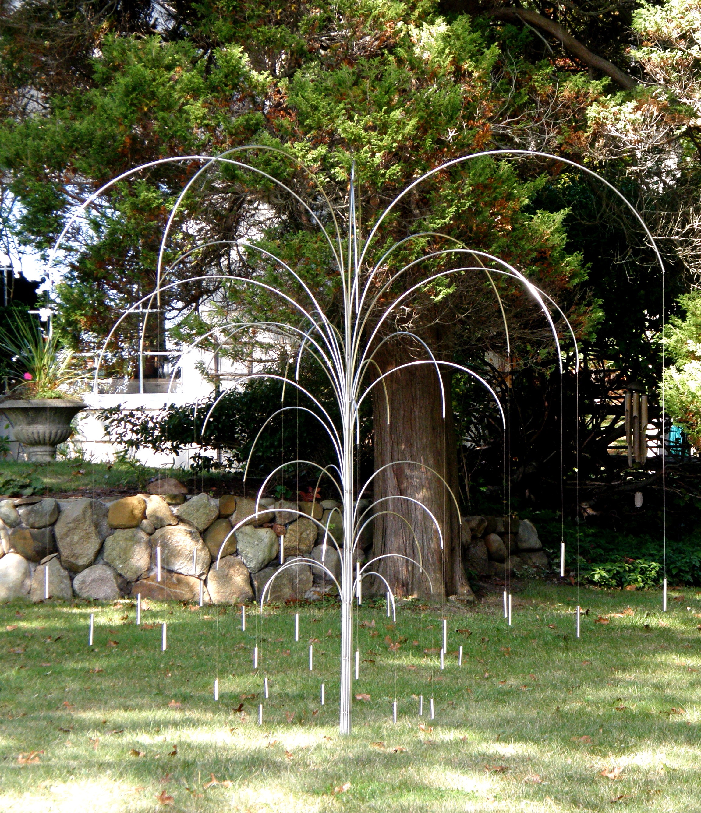Willow, 2007, stainless steel, 6 x 7 x 7 in, $6,000