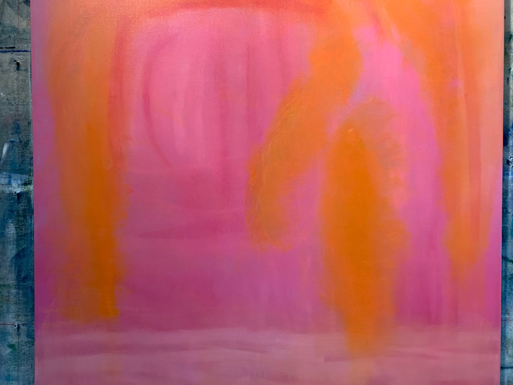 Michel D'Ermo, Sunrise II, oil on canvas, 48 x 60 in $9000
