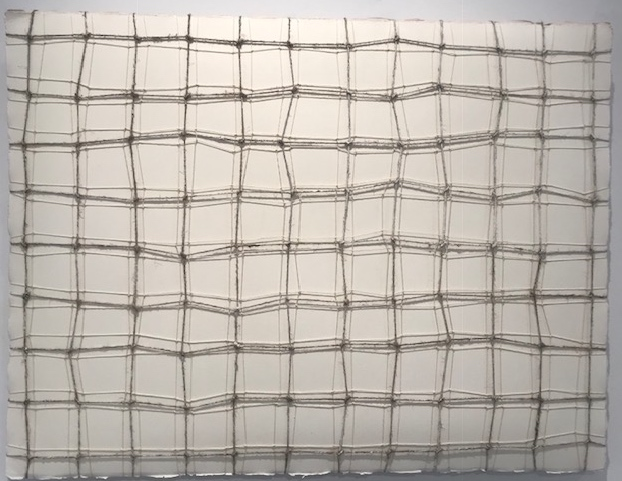 Carolyn Conrad, String Series #8, Paper and string, 18 x 24 in    $2000