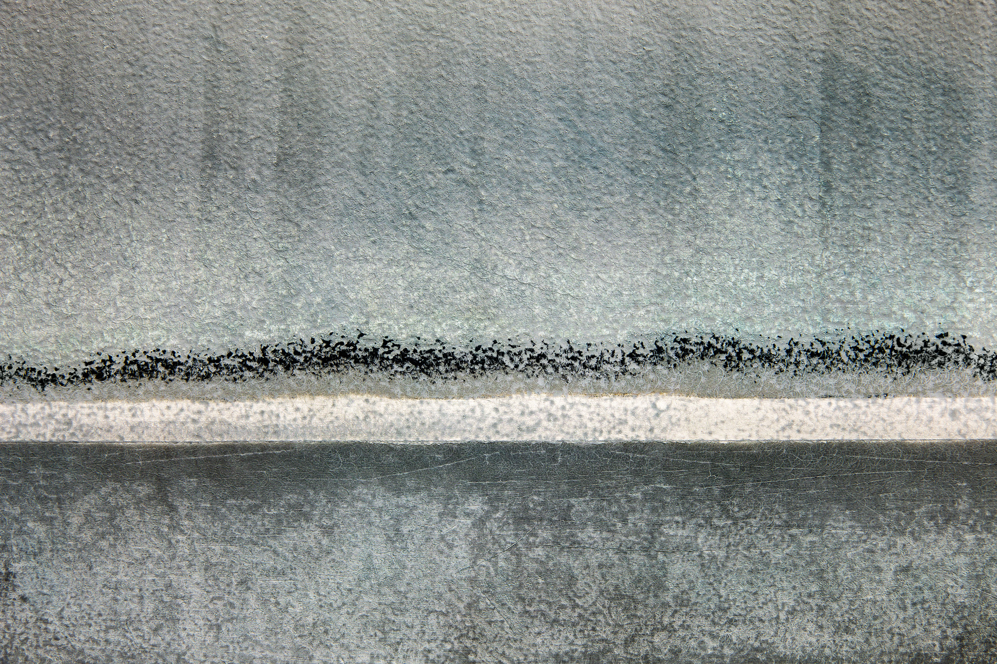 Dry Documentaries: Inlet in Fog I, 2019, archival pigment print, 12 x 18 in, edition of 10, $700