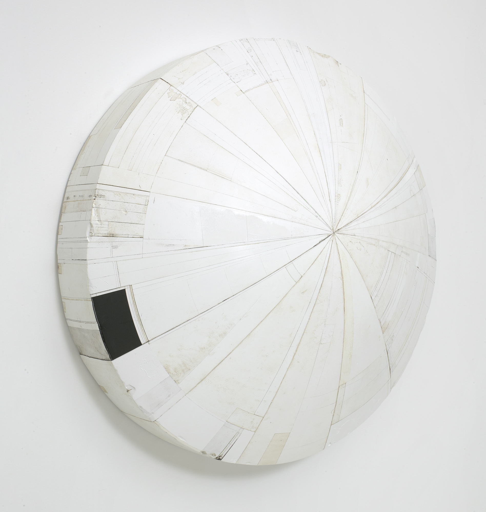 #53, 2005-2008, painted plaster, 38 x 14.5 in, $22,500
