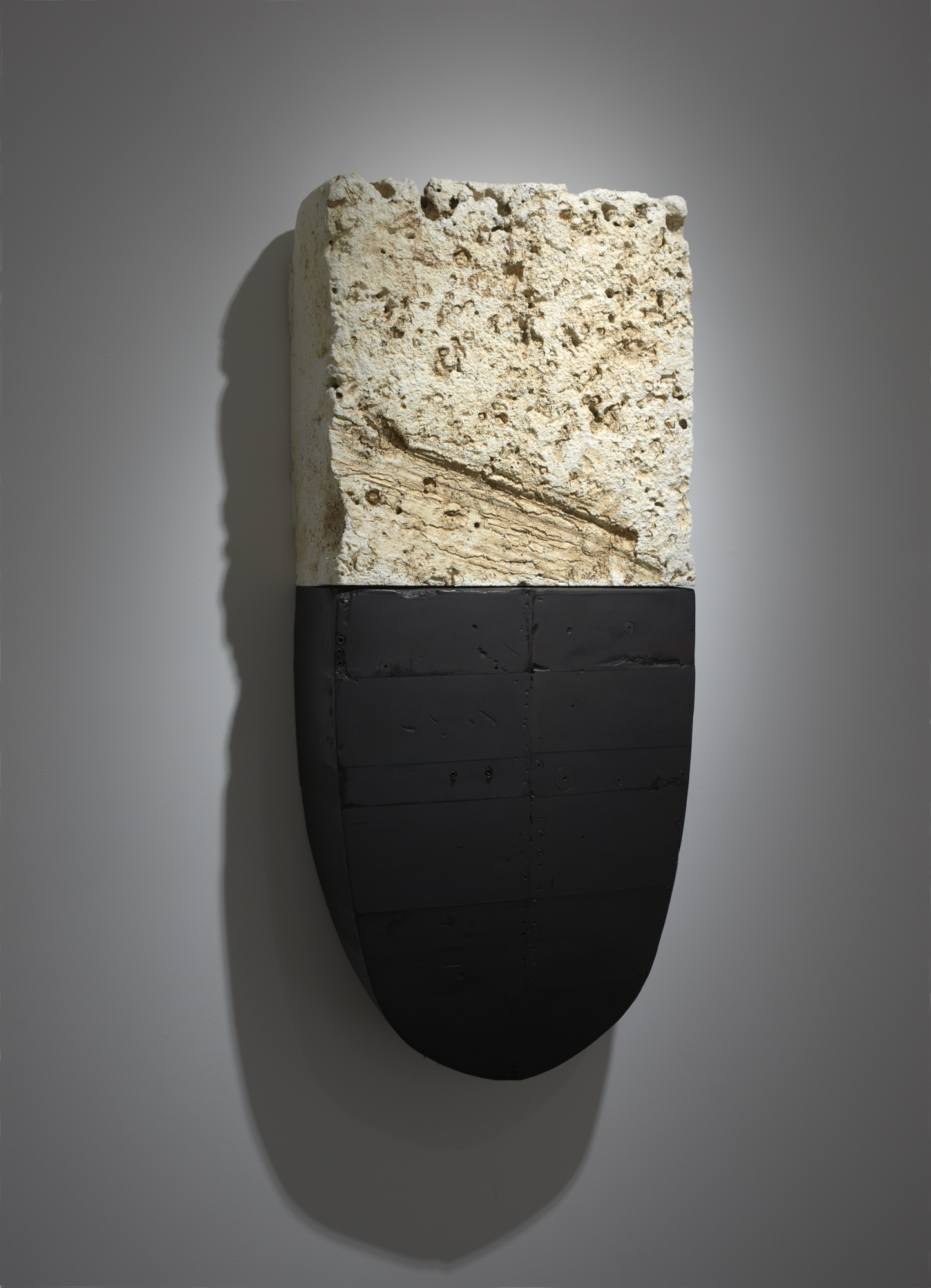 #60, 2006-2008, painted plaster, 38 x 30 x 16 in, $19,500