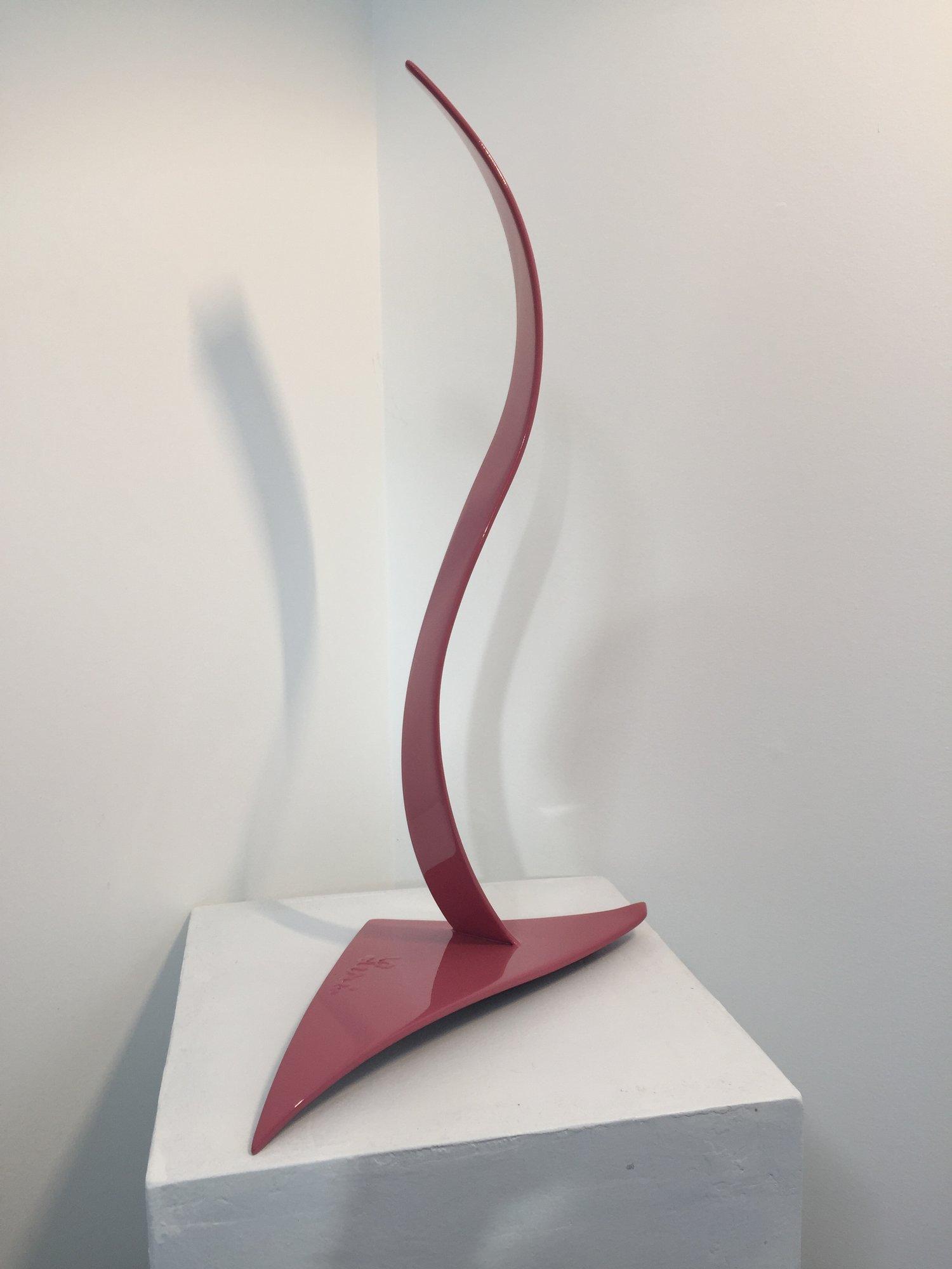 Signorina, 2013, painted welded steel, 20 x 12 x 6 in, $3,500