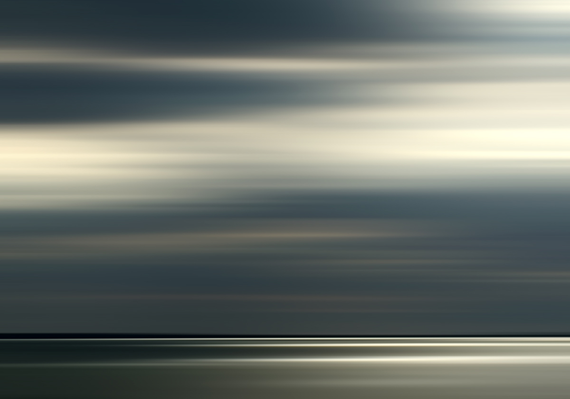 Light and Sea After the Rain, 2018, photograph on plexiglass, 42 x 60 in, edition of 10, $9,500 (other sizes available, priced accordingly)