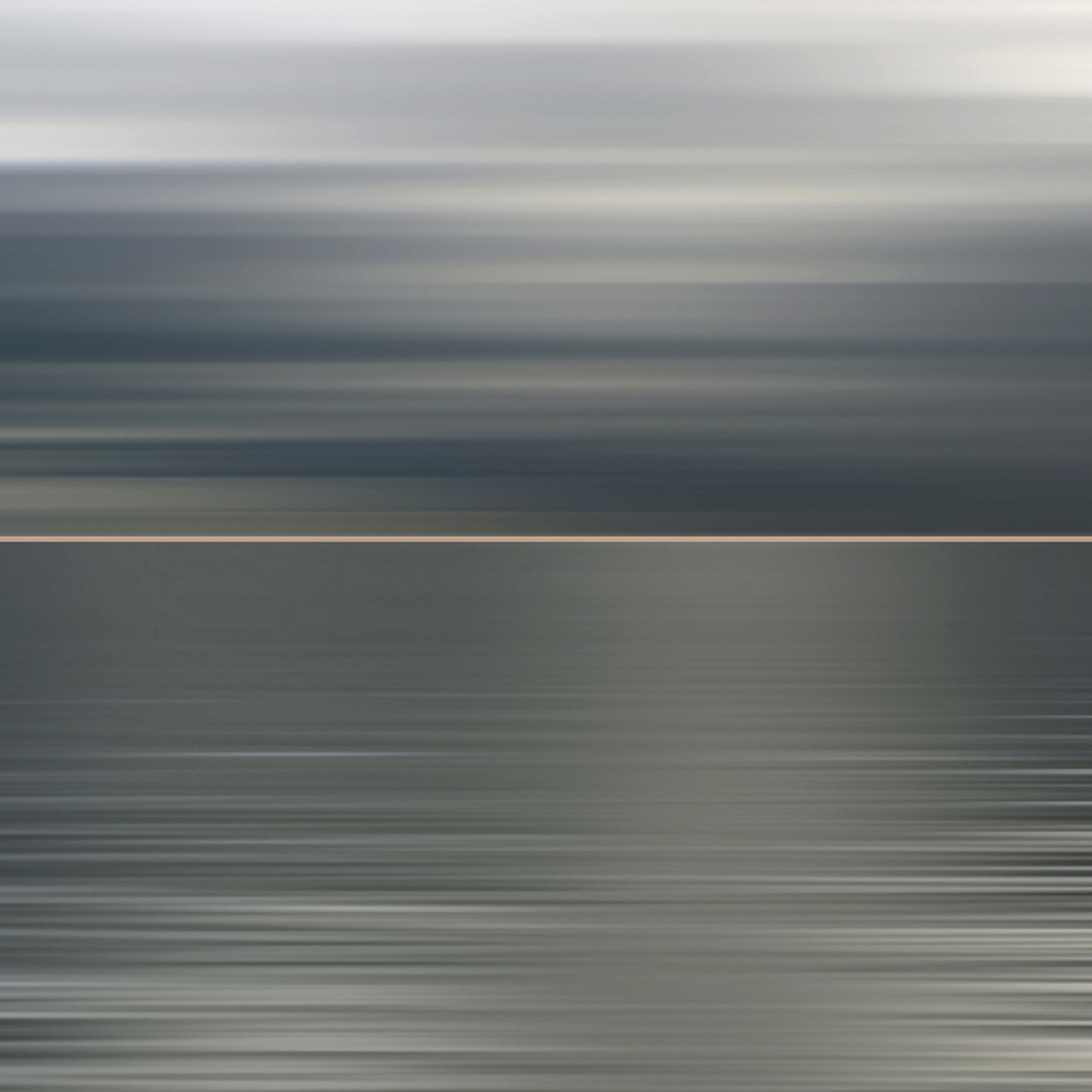 Light and Sea Pink Horizon, 2018, photograph on plexiglass, 40 x 40 in, edition of 10,  $ 7,500 (other sizes available, priced accordingly)