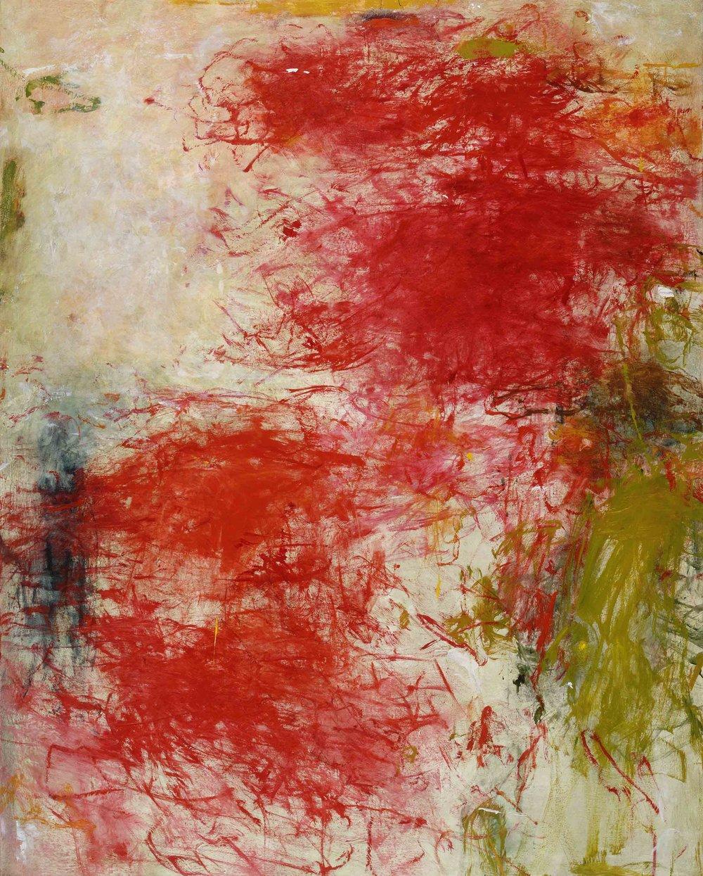 Cadmium, oil on canvas, 60 x 48 in, $9,400