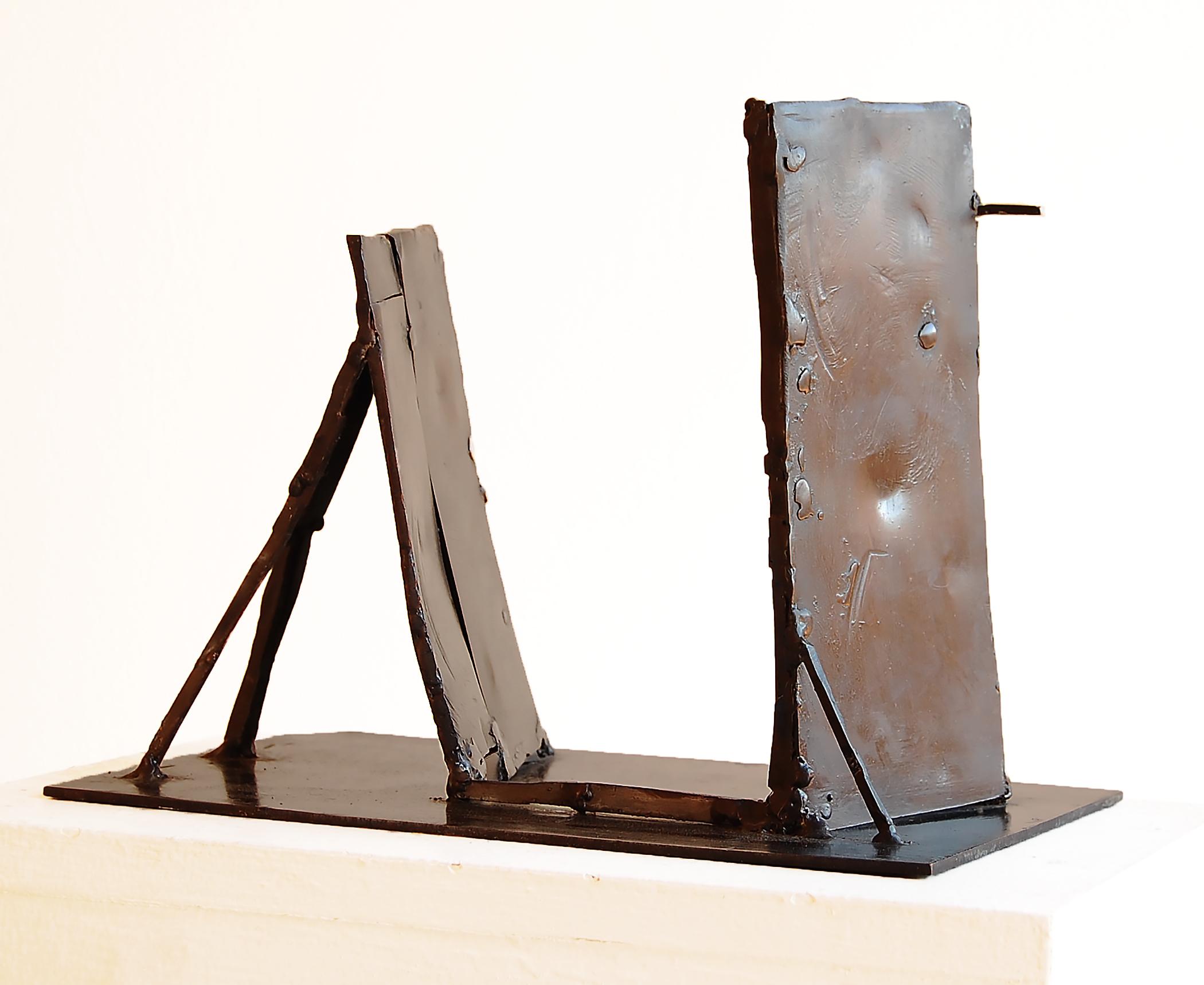 Number Five, 2003, welder bronze, 6.5 in, SOLD