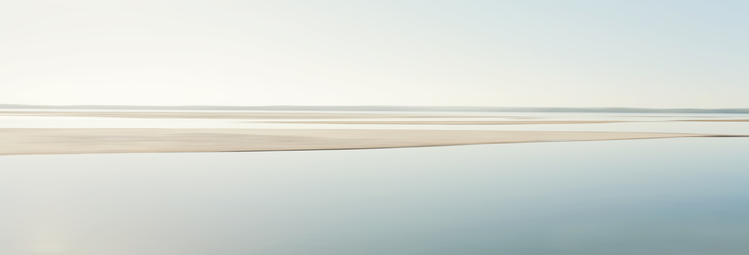 Mecox Bay, 2018, photo on aluminum, 72 x 23.5 in, edition of 5 (1 available), $5,000