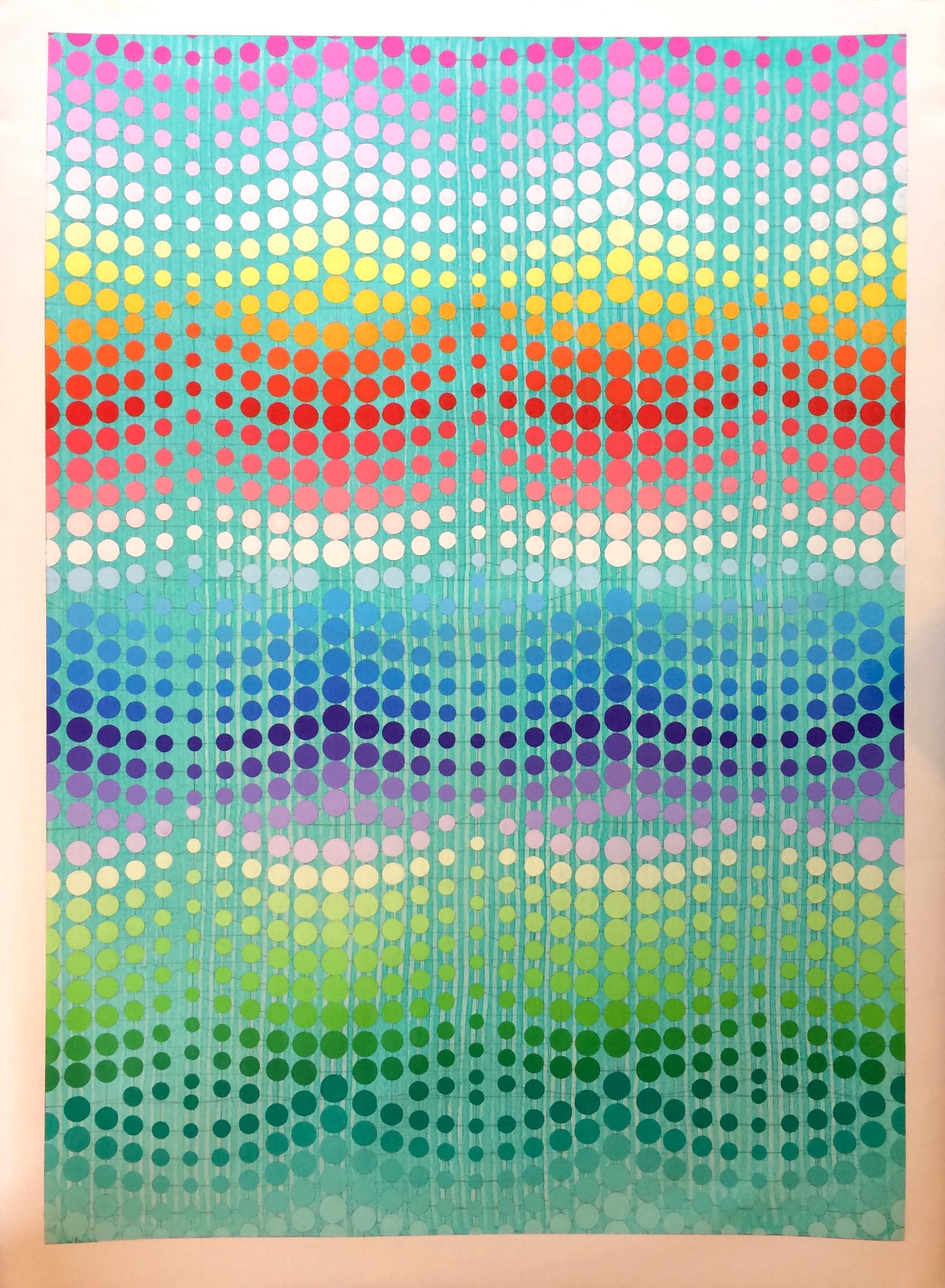 Ditch Plains, 2016, oil on unstretched canvas, 3 x 4 ft, $3,000