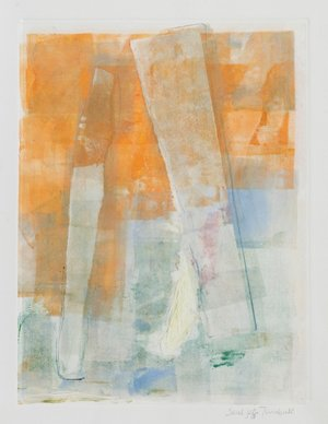 Balance, 2017, monotype on paper, 11 x 8.5 in, $500