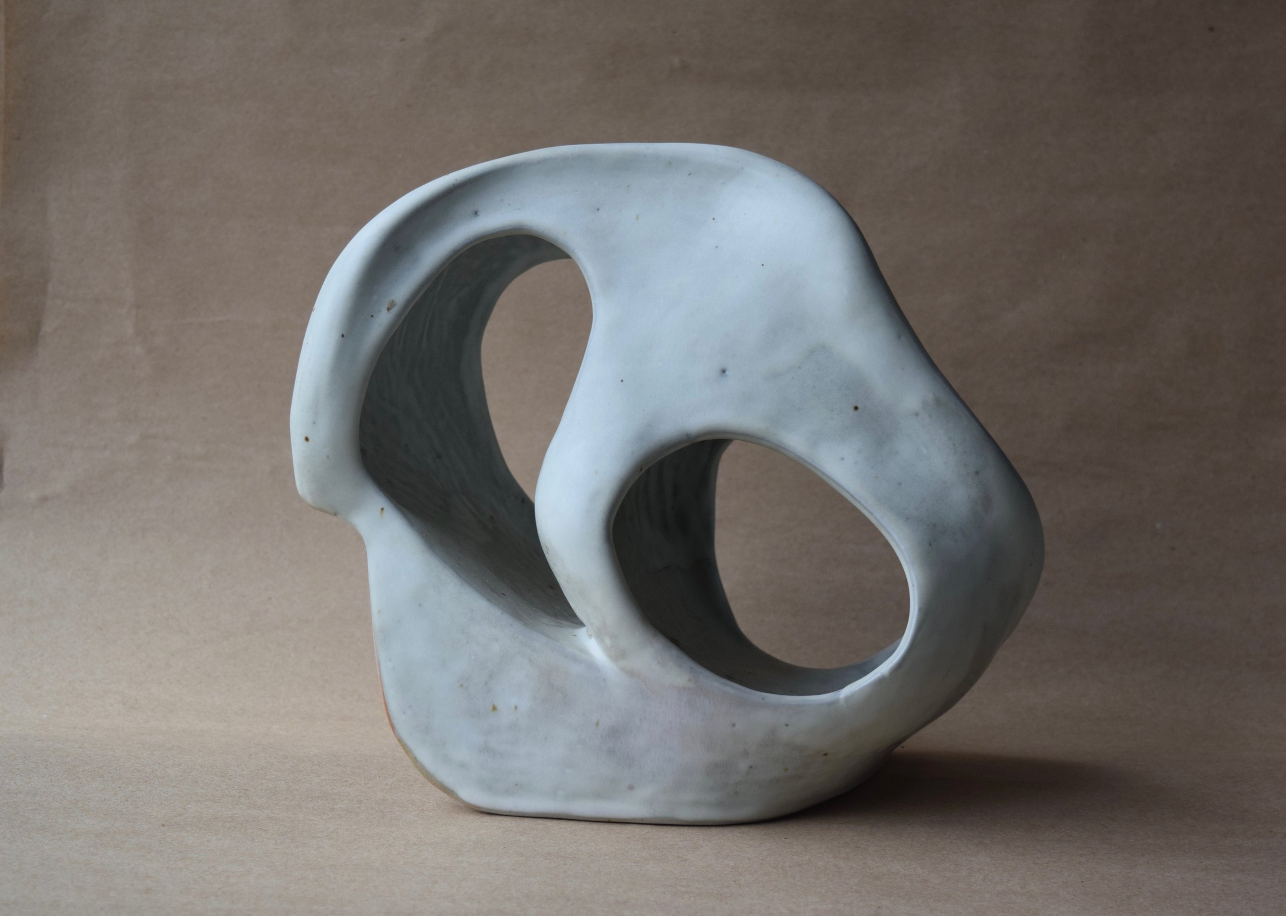 Untitled, 2013, stoneware, reduction, glazed, 10 x 13 x 10 in, SOLD