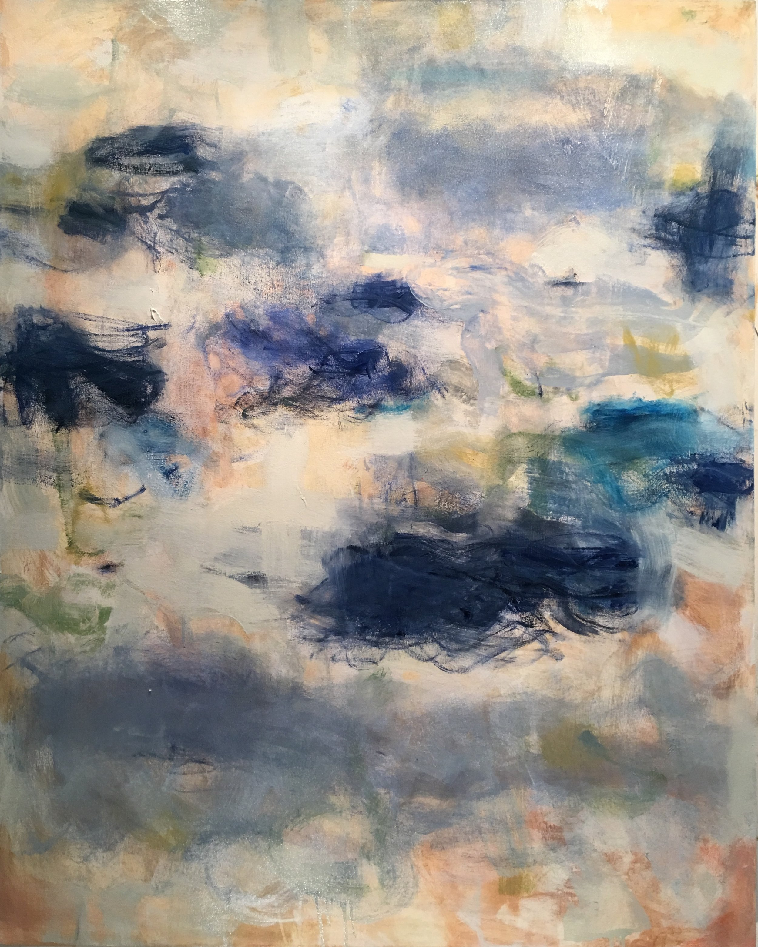 Cobalt Sky, oil on canvas, 60 x 48 inches, $9400
