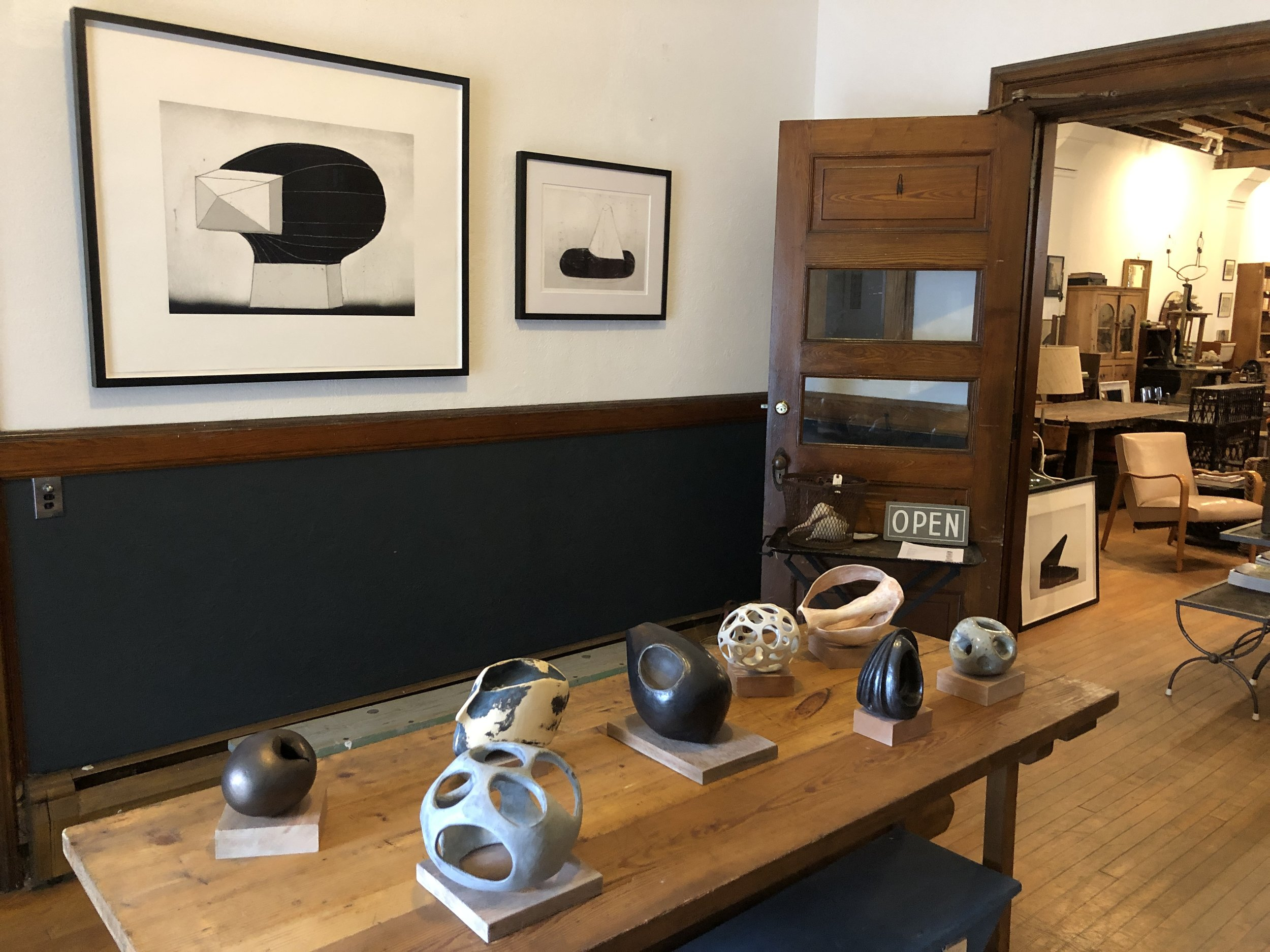 Exhibit at Beall & Bell, Greenport Village