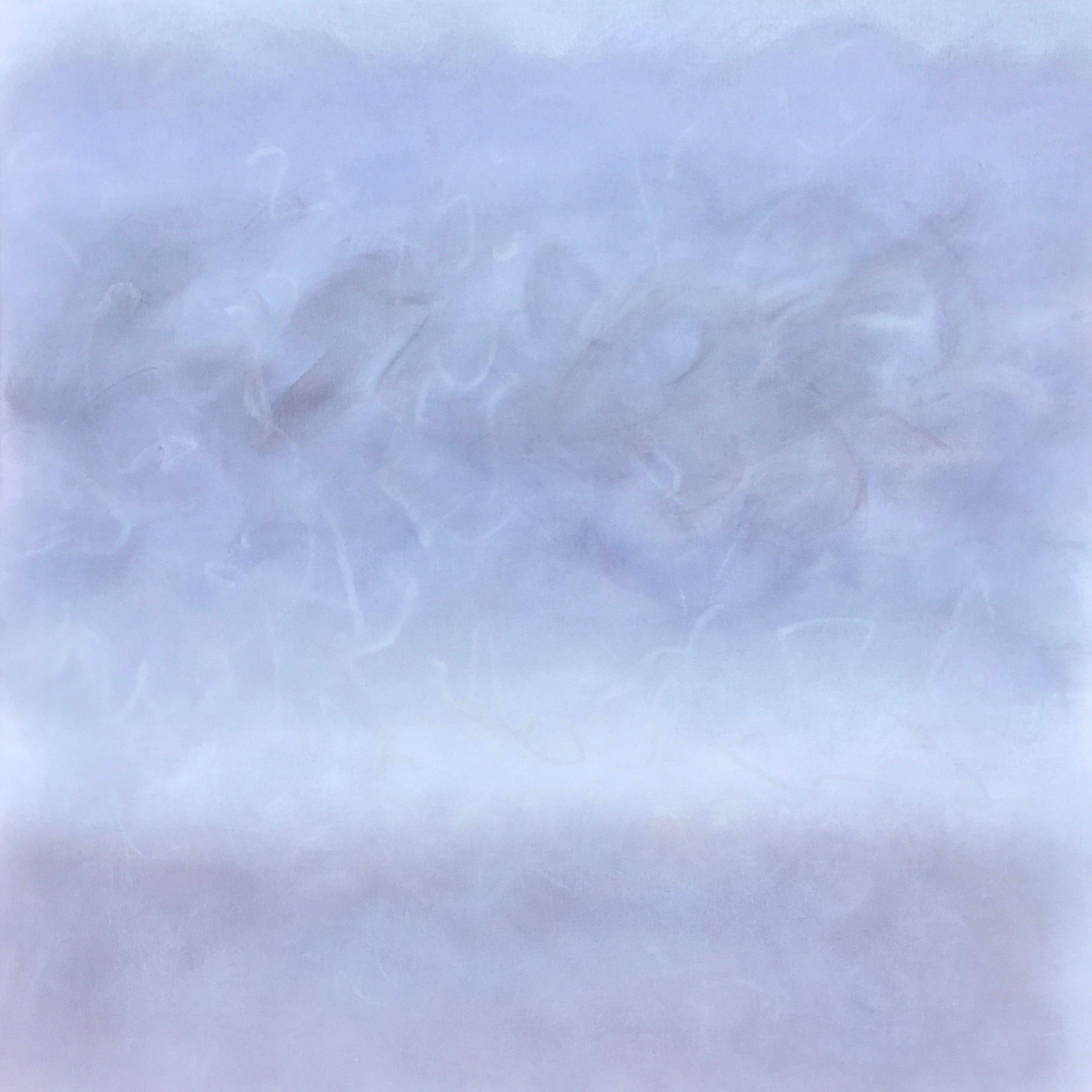 Napeague Shoals II, by Roisin Bateman, 2016, oil on canvas,  34 x 34 in, $3600