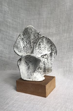 Untitled by Rosario Varela, 2019, glazed stoneware, 8 x 5 x 4 in, $400