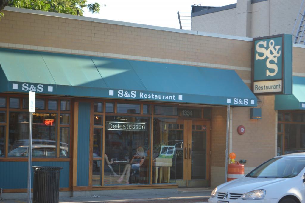 S&S  1334 Cambridge Street  Cambridge, MA 02139   617) 354-0777    sandsrestaurant.com
