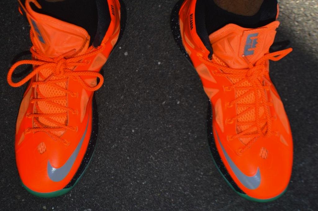 My Nike LeBron X IDs
